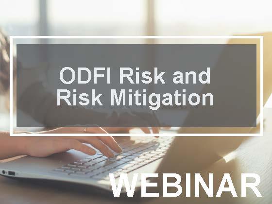 ODFI Risks and Risk Mitigation