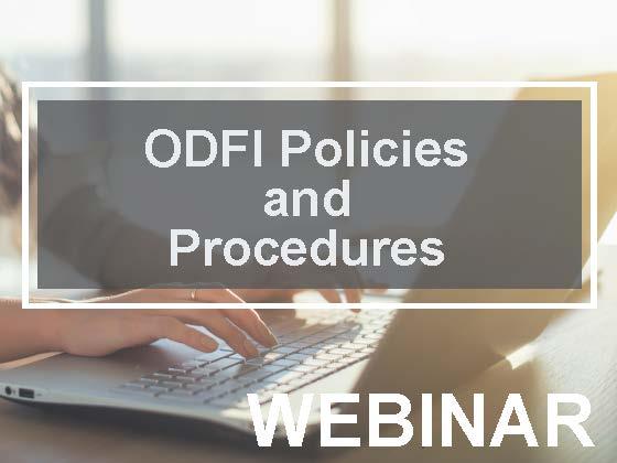 ODFI Policies and Procedures