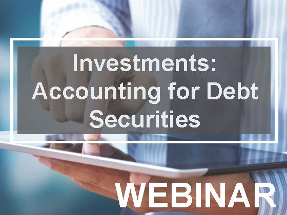 Investments: Accounting for Debt Securities