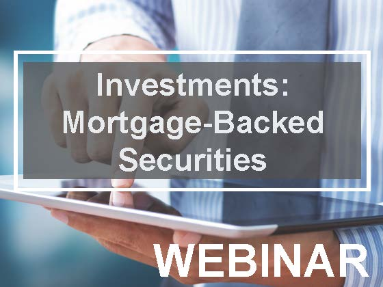 Investments: Mortgage-Backed Securities(MBS): Pass-Throughs