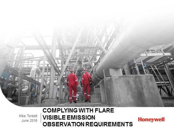 Improve Compliance, Monitoring and Control of Your Flare