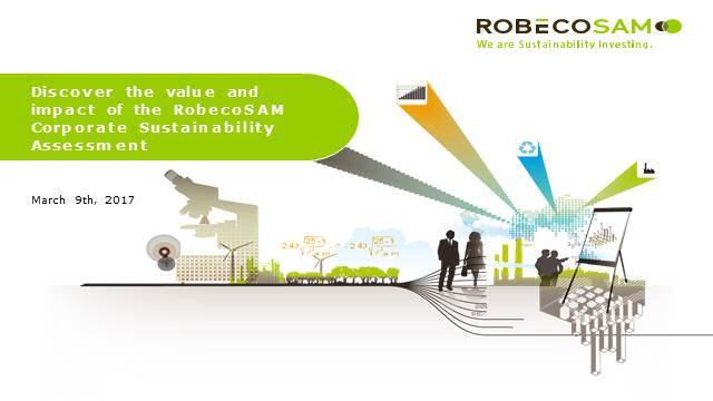 CSA 2017 - Discover the value and impact of the RobecoSAM CSA