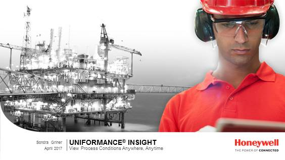 Easy access to plant operational data with Uniformance Insight
