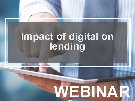 Impact of digital on lending