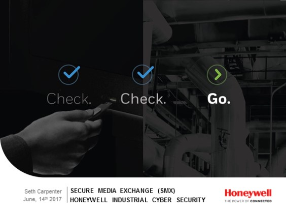 Discover USB threat protection, designed for industry: New Secure Media Exchange (SMX)