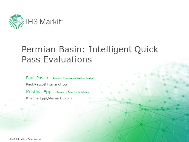 Permian Basin: Intelligent Quick Pass Evaluations of Oil & Gas Assets using Harmony Autoforecast
