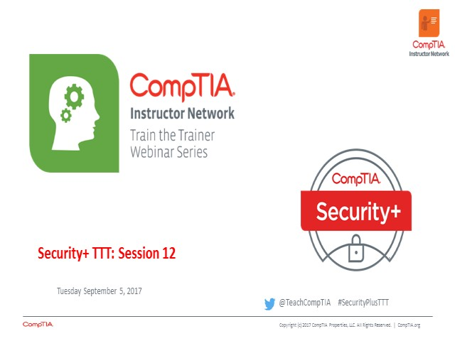 Security+ TTT Session 12: Authentication and Account Management