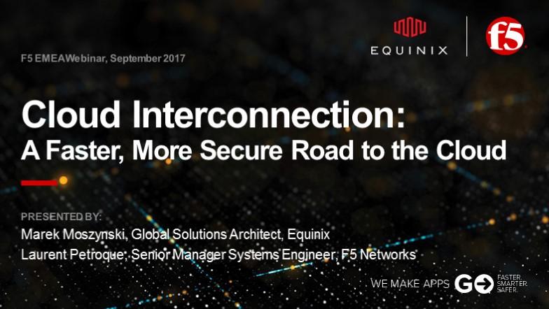 F5 EMEA Webinar September 2017 - French