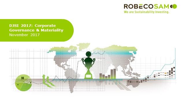 DJSI 2017 - Corporate Governance and Materiality