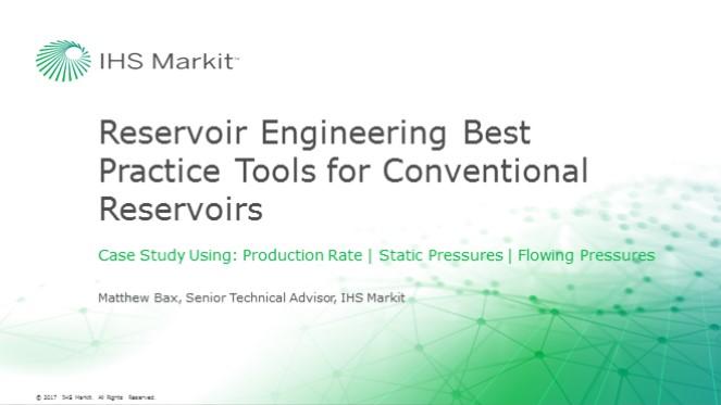 Reservoir Engineering Best Practices