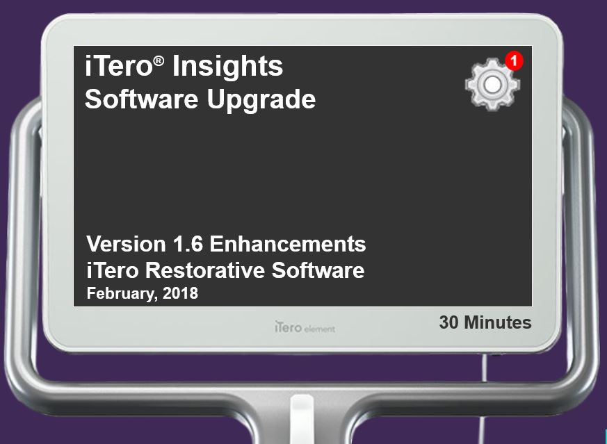 iTero Element® Intraoral Scanner Restorative Software Enhancements
