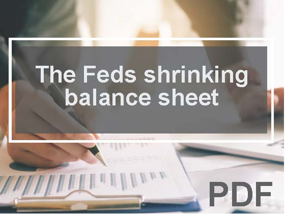 The Fed's shrinking balance sheet: Three considerations for your investment strategy