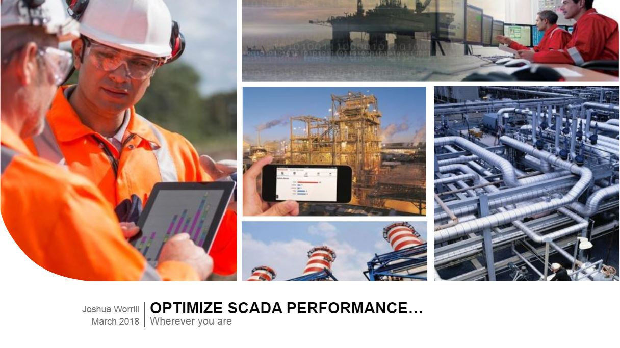 Optimize SCADA performance…wherever you are