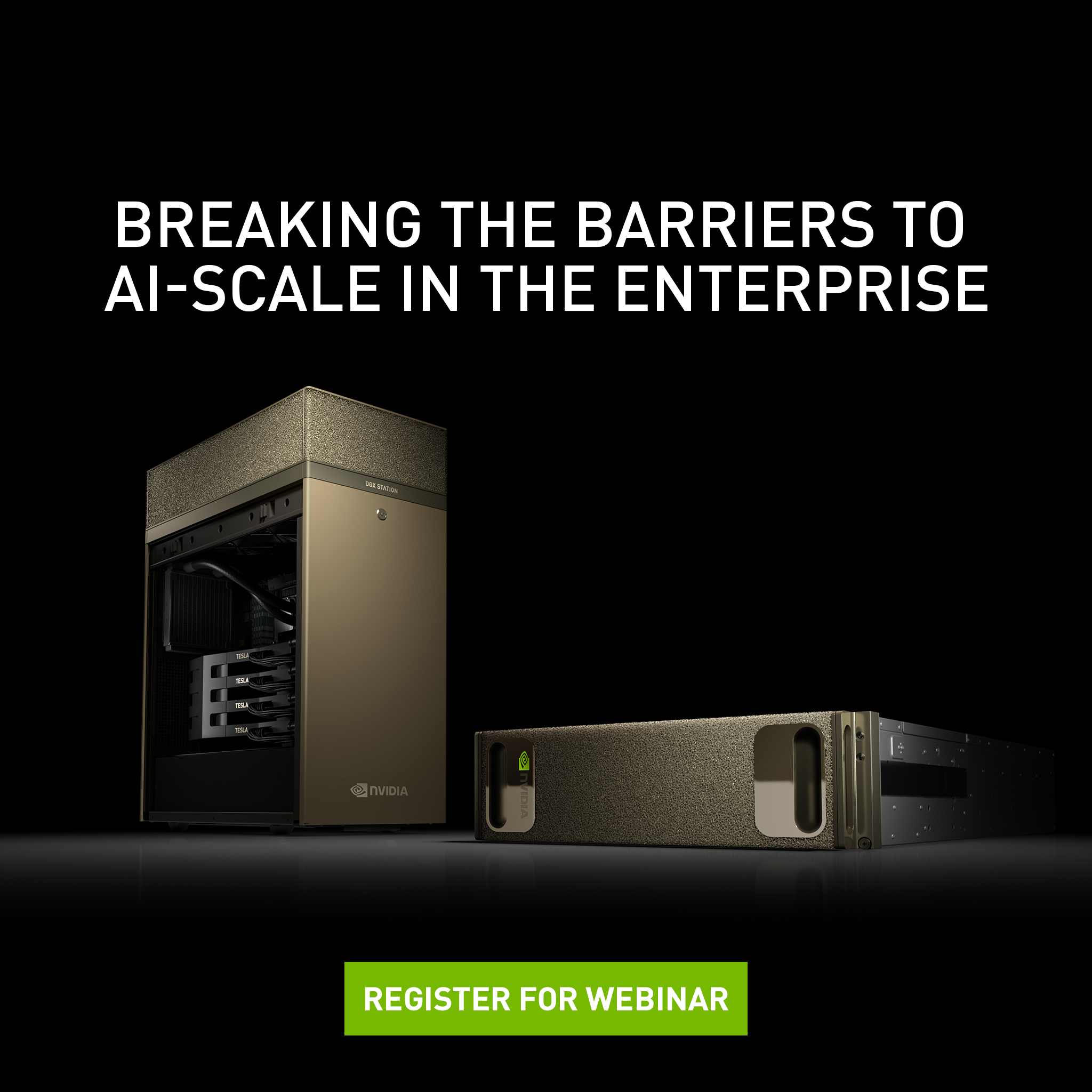 NVIDIA DGX-2 - Breaking the Barriers to AI-Scale in the Enterprise