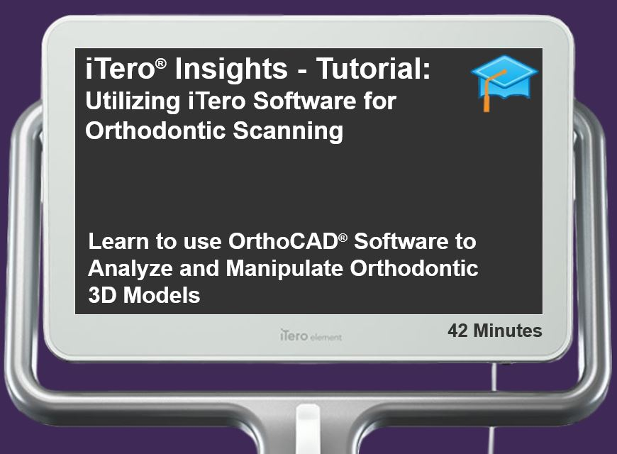 Orthodontic Virtual Analysis Powered by the OrthoCAD® Software