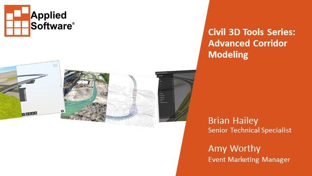 Civil 3D Tools Series: Advanced Corridor Modeling
