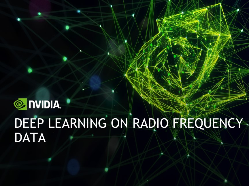 Deep Learning on Radio Frequency Data