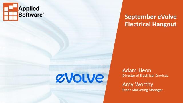 September eVolve Electrical Hangout