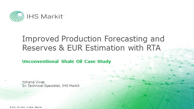 Unconventional Shale Oil Reservoir Case Study: Improve Your Production Forecasting and Reserves & EUR Estimation