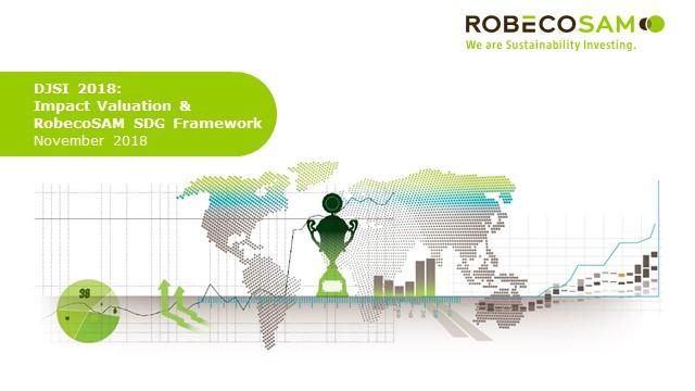 CSA 2018 - Impact Valuation and RobecoSAM SDG Investing Framework