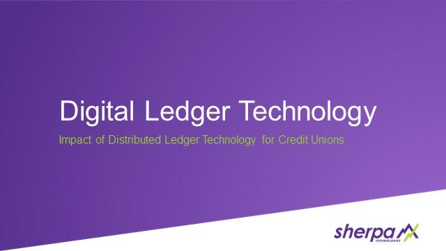 Understanding Distributed Ledger Technology