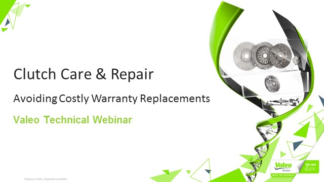 Clutch Care & Repair - Avoiding Costly Warranty Replacements