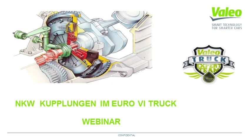 Valeo Kupplung im Euro 6 Truck