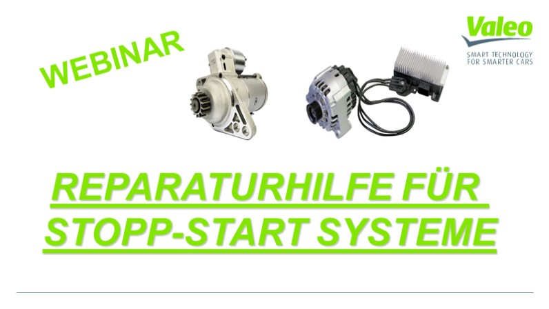 Reparaturhilfe an Stopp/Start Systemen