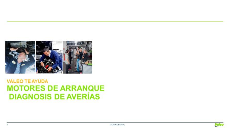 Averias y Diagnosis en Motores de Arranque : Valeo Service Argentina