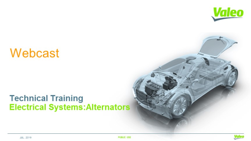 Electrical Systems: Alternators - Technical Training