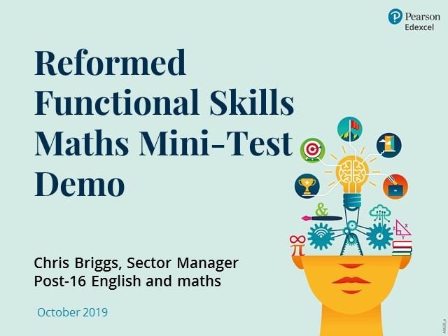 Reformed Functional Skills Maths Mini-Test Demo