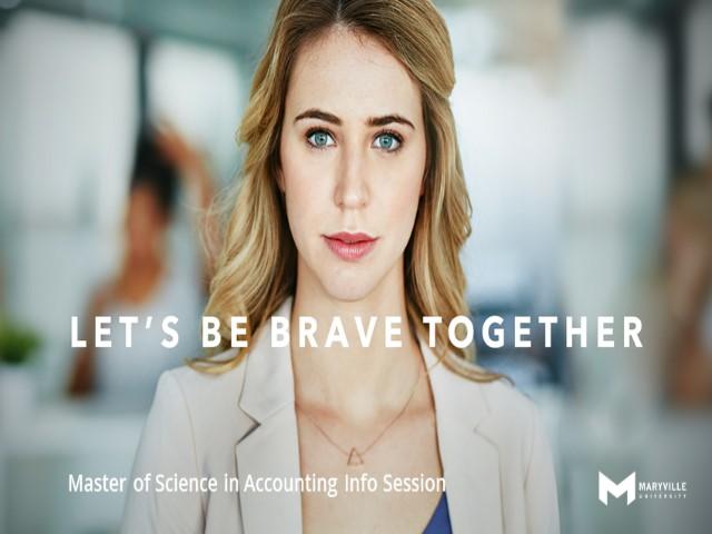 Webinar | Maryville University | MSACC | Accepted Students: Curriculum - Career | 12/10/2019