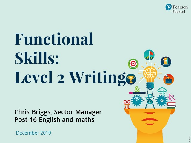 Functional Skills: Level 2 Writing