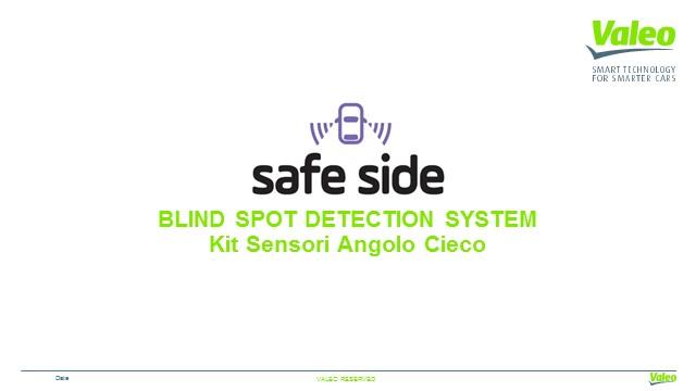 Valeo Safe Side - kit sensori angolo cieco