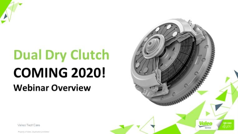Valeo Dual Dry Clutch Introduction Webinar