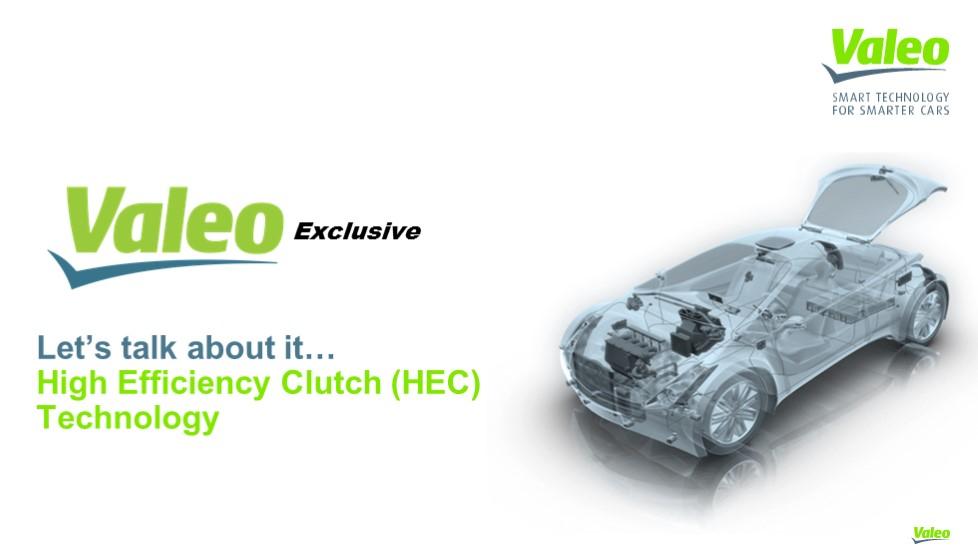 Valeo High Efficiency Clutch Technology