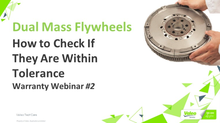 Dual Mass Flywheels - How to Check If They Are Within Tolerance