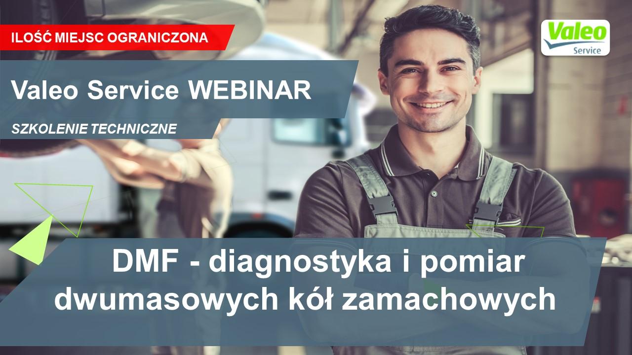 DMF - diagnostyka i pomiar dwumasowych kół zamachowych