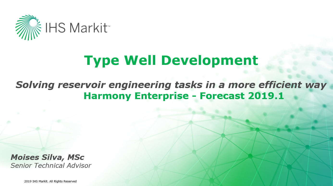 Type Wells - A More Efficient & Reliable Approach