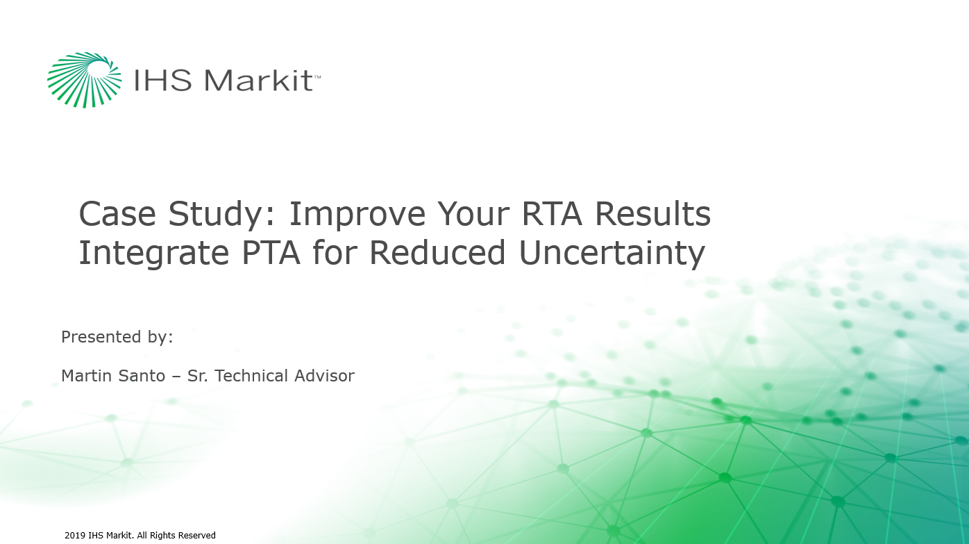 Case Study: Improve Your RTA Results - Integrate PTA for Reduced Uncertainty