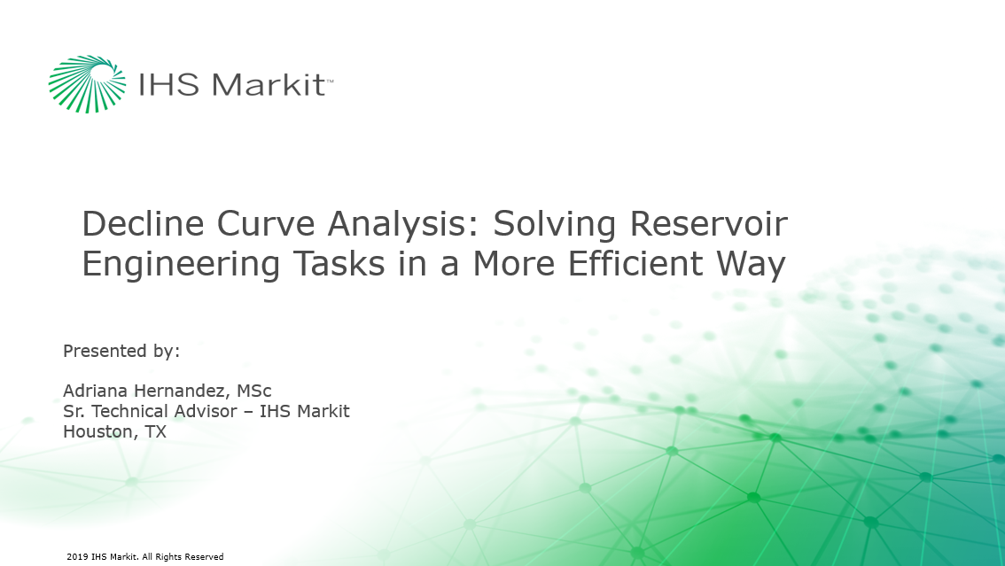 Decline Curve Analysis: Solving Reservoir Engineering Tasks in a More Efficient Way