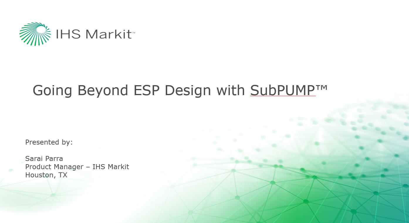 Going Beyond ESP Design with SubPUMP