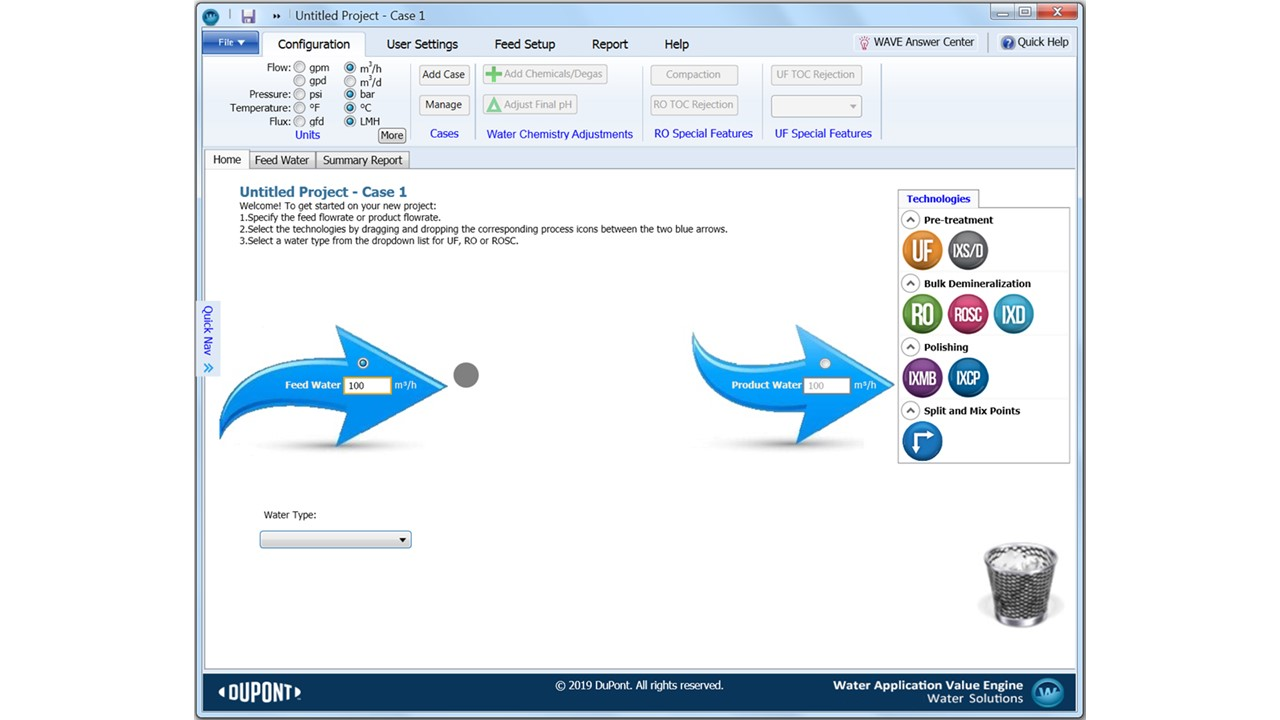 Introduction to WAVE: DuPont Water Solutions' multi-tech design software