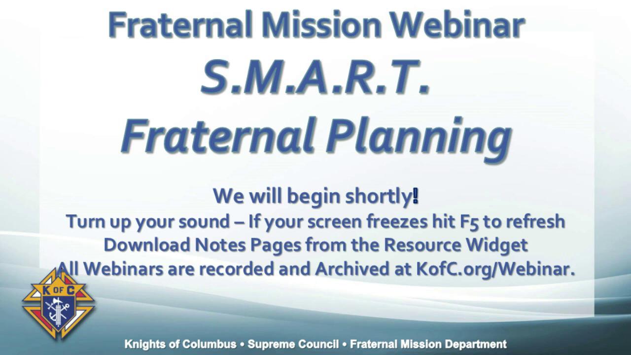 SMART Fraternal Planning