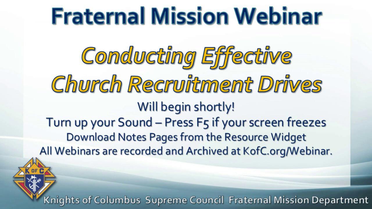 Conducting Effective Church Recruitment Drives