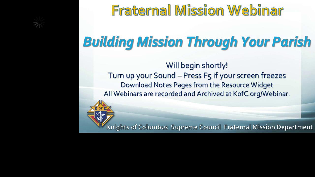 Building Mission through your Parish