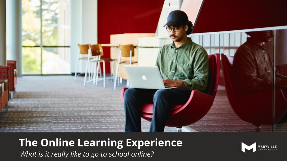 Maryville University Online Experience Information Session