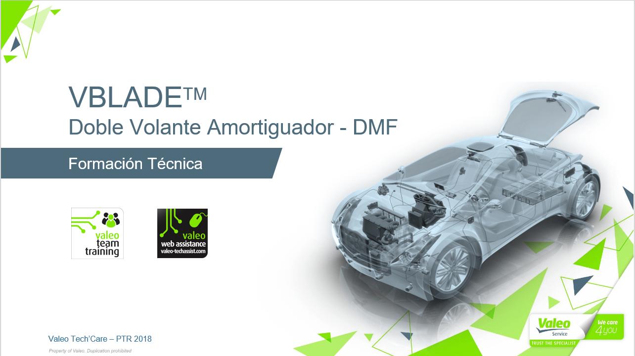 VBLADE:Tecnología Volante Motor Valeo (DMF)