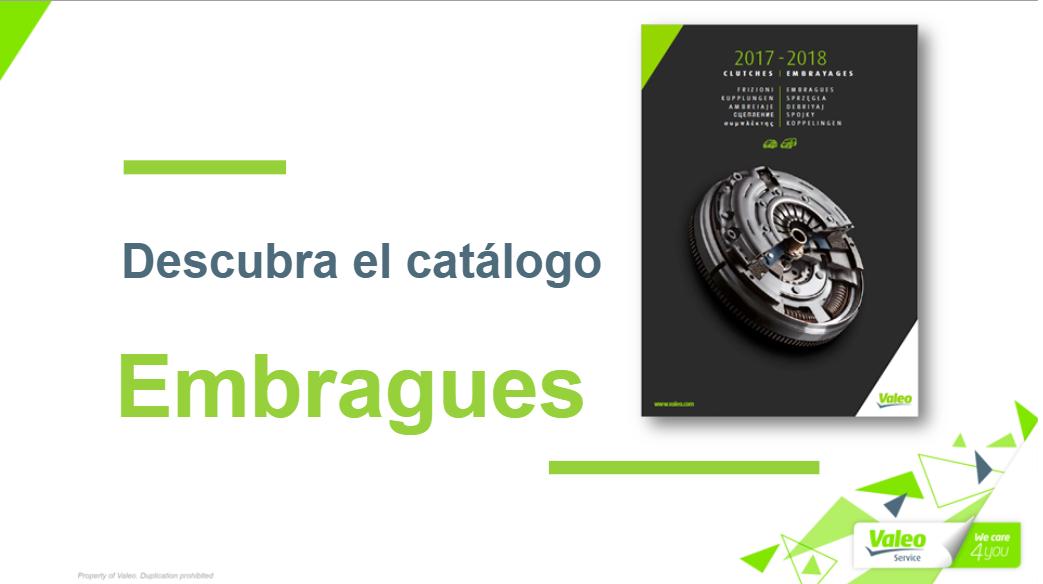 Nuevo Catálogo Embragues Valeo: Manejo y Novedades
