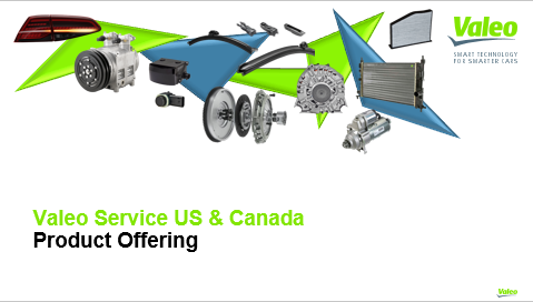 Valeo Service US & Canada Product Offer